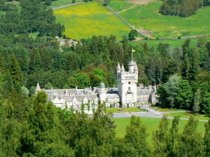 Balmoral: The Queen likes it here