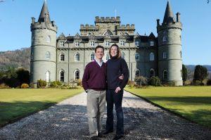 Och aye: the Duke and Duchess of Argyll